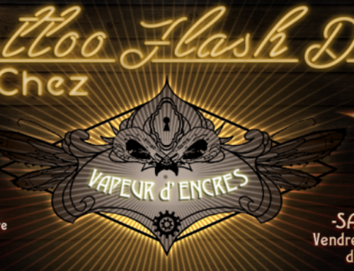 First tattoos flashs day chez Vapeur d'Encres !