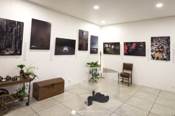 vernissage exposition Cube photographies Vapeur d'Encres lyon Photo Alain Doucé